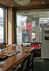 小樽新倉屋総本舗喫茶スペース