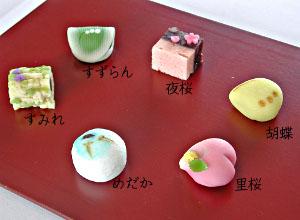 2012年4月の上生菓子