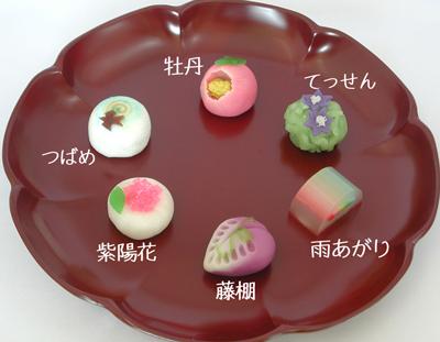 2012年6月の上生菓子