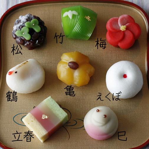 2013新年の上生菓子