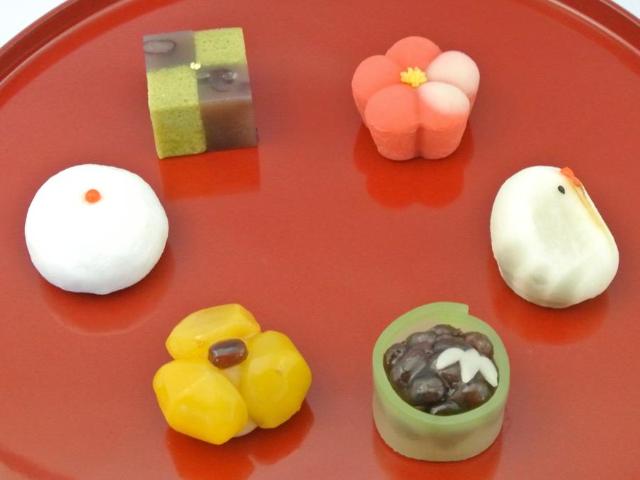 新年の上生菓子