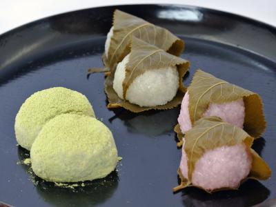 桜餅(こし餡・つぶ餡)・うぐいす餅